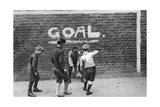 Football in the East End  London  1926-1927
