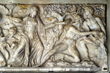 Hecate and Giants  Roman Relief