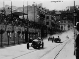 Start of the Inaugural Monaco Grand Prix  1929