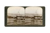 Fishermen on the Sea of Galilee  Palestine  1900