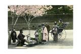 A Street Merchant  Japan  1904