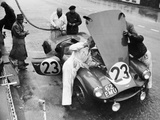 Pit Stop  Le Mans 24 Hours  France  1955