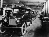 Chevrolet 490 Cars on Production Line  C1920