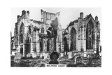 Melrose Abbey  Scotland  1936