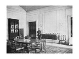Private Dining-Room at the White House  Washington Dc  USA  1908