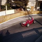Phill Hill Racing a Ferrari D246  Monaco Grand Prix  Monte Carlo  1959