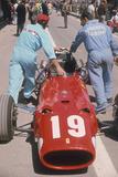 Ferrari of Chris Amon at the Spanish Grand Prix  Jarama  Madrid  1968