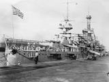 Us Navy Warships  Navy Yard  Balboa  Panama  1931