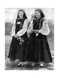 Latvian Women in Traditional Costume  1936