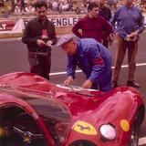 The Ferrari Pit  Le Mans  France  1965
