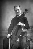 Carlo Alfredo Piatti (1822-190)  Italian Violoncellist  1890