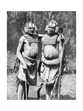 Two Witch-Doctors  Tanganyika (Tanzani)  Africa  1936