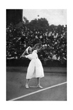 Suzanne Lenglen Winning Her First Championship at Wimbledon  1919