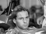Gehard Berger with Ferrari  1988