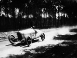 Jimmy Murphy Driving a Duesenberg to Victory in the French Grand Prix  Le Mans  1921