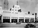 Auburn and Cord Car Showroom  USA  1936