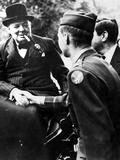 Winston Churchill  British Statesman  World War II  1939-1945