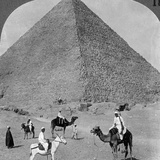 King Khufu's Tomb  the Great Phyramid of Giza  Egypt  1905