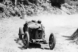 Pietro Bordino in a Fiat 803  in the Targa Florio Race  Sicily  1924