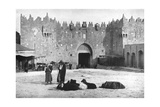 Damascus Gate  Jerusalem  Israel  1926