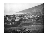 Tiberias and the Lake of Galilee  1926