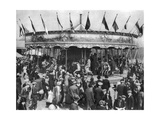 A Merry-Go-Round  Part of a Bank Holiday Carnival on Hamstead Heath  London  1926-1927