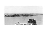 Perth from King's Park  Western Australia  1928