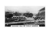 Cucharee Hall of Public Audience  Agra  India  C1925