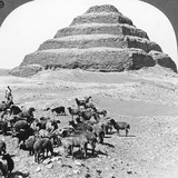 The Pyramid of Sakkarah  Egypt  1905