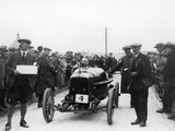 Aston Martin at a Motor Racing Event  1922
