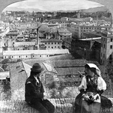 Aventine Hill and the Alban Hills  Rome  Italy