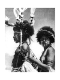 Painted Warriors  Papua  New Guinea  1936