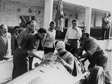 Onofre Marimon at the French Grand Prix  Reims  1951