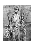 A Witch-Doctor  Uganda  Africa  1936