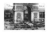 Victory Parade  Paris  14th July 1919