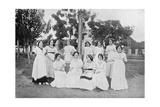 Group of Paraguayan Women  Carapegua  Paraguay  1911