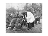 New Zealand Troops Taking Holy Communion  World War I