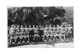 Group Portrait of C Company  2nd Battalion the King's Regiment  Iraq  1926