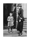 An East End Child and a Policewoman  London  1926-1927