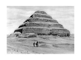 A Step Pyramid Outside Cairo  Egypt  C1920S