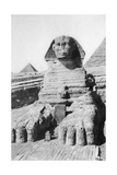 The Excavated Sphinx  Cairo  Egypt  C1920S