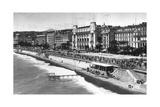 Le Palais De La Mediterranee on Promenade Des Anglais  Nice  South of France  Early 20th Century