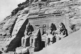 The Temple of Abu Simbel  Egypt  1936
