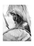 A Masai Warrior  Africa  1936