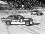 A BMW 325IX During the Chamonix Ice Race  France  1989