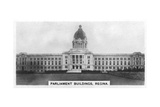 Parliament Buildings  Regina  Saskatchewan  Canada  C1920S