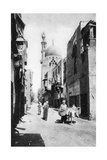 The Native Quarter  Cairo  Egypt  C1920s