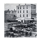 San Antonio  Texas  USA  1876