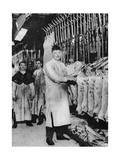 A Meat Porter  Smithfield Market  London  1926-1927