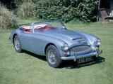 A 1965 Austin Healey 3000 MK3